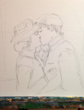 FirstKissDrawing