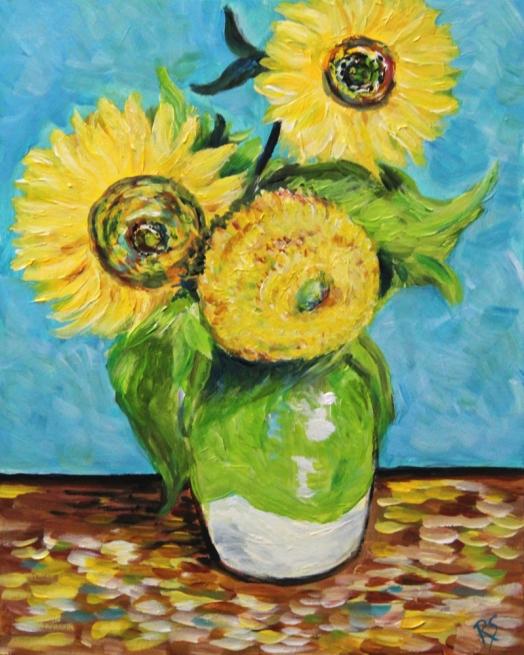 VincentsSunflowers1