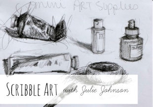 Scribble Art with Julie Johnson